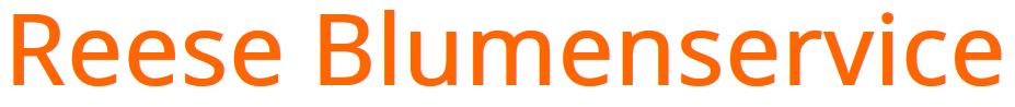 Reese Blumenservice Logo